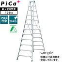ピカ(Pica) アルミ製 専用脚立 スーパージョブ JOB-330E [大型・重量物]