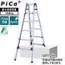 ピカ(Pica) アルミ伸縮脚立(はしご兼用) SCL-210A [配送制限商品]【在庫有り】【あす楽】