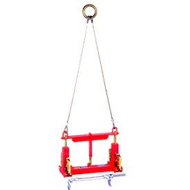 サンキョウトレーディング U字溝吊りクランプ マシンバイス 内吊ジャスト 300オート (ワイヤー付) :1台【在庫有り】【あす楽】