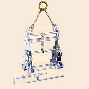 サンキョウトレーディング U字溝吊りクランプ マシンバイス 内吊ワイド600 : 【在庫有り】【あす楽】
