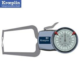 クロップリン(kroeplin) D220 アナログオディテスト(外形測定用) 測定範囲:0-20mm