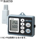 佐藤計量器 データロガー記憶計 (電池・ACアダプタ両電源タイプ) SK-L200TH II α D 本体のみ (温湿度タイプ) 8170-10