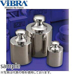 新光電子(VIBRA) F1CSB-5K 基準分銅型円筒分銅 F1級(特級) 5kg 非磁性ステンレス製