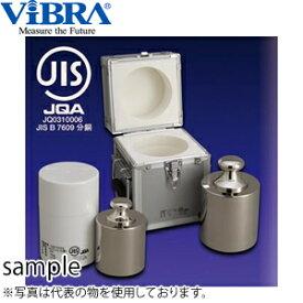新光電子(VIBRA) M2CBB-10KJ JISマーク付基準分銅型円筒分銅 M2級(3級) 10kg 黄銅クロムメッキ製