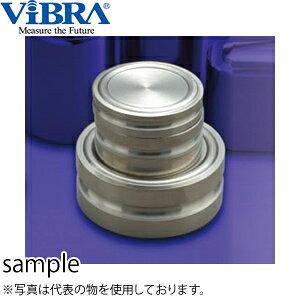 新光電子(VIBRA) M2DB-2K 円盤分銅 M2級(3級) 2kg 黄銅クロムメッキ製