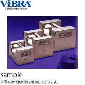 新光電子(VIBRA) F2RS-10K 枕型分銅 F2級(1級) 10kg 非磁性ステンレス製