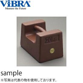 新光電子(VIBRA) M1RF-20K 枕型分銅 M1級(2級) 20kg 鋳鉄製