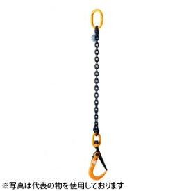 スーパーツール チェーン付スーパーロックフック SLH2SC 2トン スイベル付 敷鉄板吊りフック[代引不可商品]