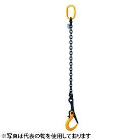 スーパーツール チェーン付スーパーロックフック SLH3AC 3トン 開閉ロック付 敷鉄板吊りフック[代引不可商品]