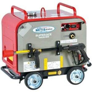 スーパー工業 高圧洗浄機 エンジン式 防音型 (ホースリール付) SEV-3010SSH[039263] [法人・事業所限定]