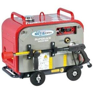 スーパー工業 高圧洗浄機 エンジン式 防音型 (ホースリール付) SEV-3007SSH[039273] [法人・事業所限定]