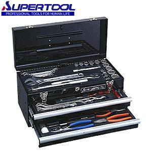 スーパーツール プロ用デラックス工具セット S7000DS チェストタイプ 2段引出し式