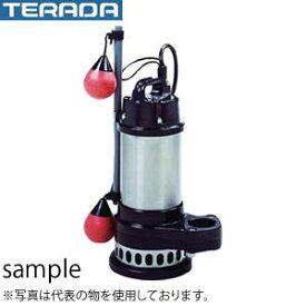寺田ポンプ製作所 水中ポンプ CXA形ボルテックス CXA-400 自動 単相100V 60Hz 新素材製/ステンレス製 口径50mm