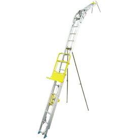 トーヨーコーケン パネルボーイ PV-MZ4 標準セット(2階仕様) はしごセット+ウインチ [個人宅配送不可][送料別途お見積り]
