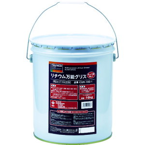■TRUSCO リチウム万能グリス #1 16kg CGR-160-1 トラスコ中山(株)[TR-1030184]