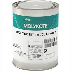 ■モリコート 樹脂用 EM-70Lグリース 1KG 〔品番:EM-70L-10〕[TR-1083275][送料別途見積り][法人・事業所限定][外直送]
