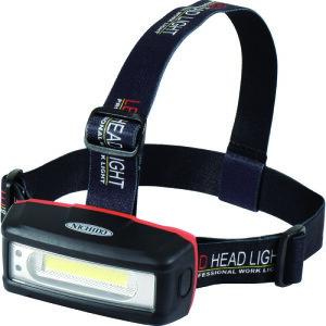 ■日動 充電式LEDヘッドライト 〔品番:SHL-3W-PIR-CH〕[TR-1099006]