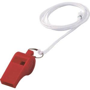 ■緑十字 笛(ホイッスル) 赤 全長51.5mm 12個組 プラスチック製 144404(1137453)[送料別途見積り][法人・事業所限定][掲外取寄]