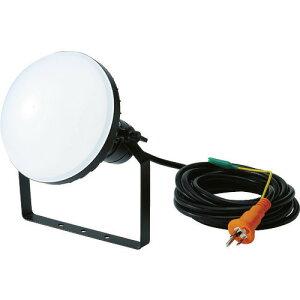 ■TRUSCO LED投光器 DELKURO 50W 5m アース付 2芯3芯両用タイプ RTLE505EP(1141052)