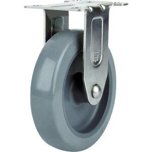 ■SAMSONG ステンレスキャスター 固定 ウレタン 75mm TP5130R-01-PLY SAMSONG CASTER[TR-1143165]