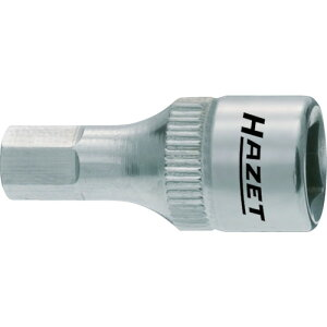 ■HAZET SUSショートヘキサゴンソケット(差込角6.3MM) 〔品番:8501X-4〕[TR-1282579][送料別途見積り][法人・事業所限定][掲外取寄]