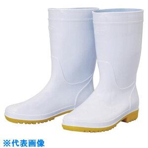 ■ハンシン HM-7001 衛生長靴 27.0CM 〔品番:HM-7001-27.0〕[TR-1329343][送料別途見積り][法人・事業所限定][外直送]