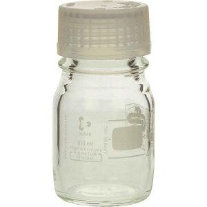 ■SIBATA プレミアムボトル(メジューム瓶)白キャップ付100ML(10個入) 〔品番:017260-100A〕[TR-1361556][送料別途見積り][法人・事業所限定][掲外取寄]