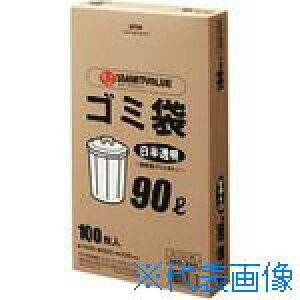 ■ジョインテックス ゴミ袋 LDD 白半透明 90L 100枚 N115J-90 (365369) 〔品番:N115J-90〕[TR-1961531][送料別途見積り][法人・事業所限定][掲外取寄]