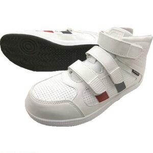 ■富士手袋 ミドルカット 安全靴 白 24.0CM 〔品番:6545-W-24.0〕[TR-1977713][送料別途見積り][法人・事業所限定][外直送]