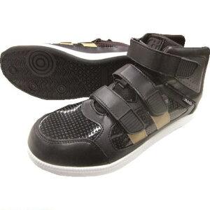 ■富士手袋 ミドルカット 安全靴 黒 26.0CM 〔品番:6545-BK-26.0〕[TR-1979213][送料別途見積り][法人・事業所限定][外直送]