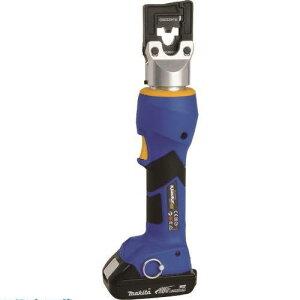■クラウケ 充電式油圧圧着工具(標準セット) 〔品番:EK424CFMJP〕[TR-2264106][法人・事業所限定][外直送元]