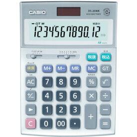 ■カシオ 検算電卓(デスクタイプ) DS20WK(3284956)