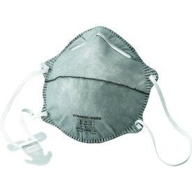 ■TRUSCO 使い捨て式防じんマスク DS2 活性炭入 (10枚入) TR-3600B トラスコ中山(株)[TR-3633080]