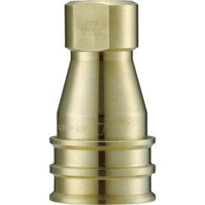■ナック クイックカップリング S・P型 真鍮製 オネジ取付用[品番:CSP10S2][TR-3644111]