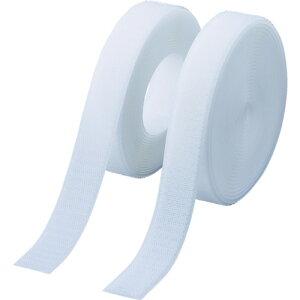 ■TRUSCO マジックテープ 縫製タイプ 100mmX5m 白(1巻=1セット) TMSH-1005-W トラスコ中山(株)[TR-3897257]