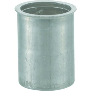 ■TRUSCO クリンプナット薄頭アルミ 板厚4.0 M6X1 (1000個入) TBNF-6M40A-C トラスコ中山(株)[TR-4097173]