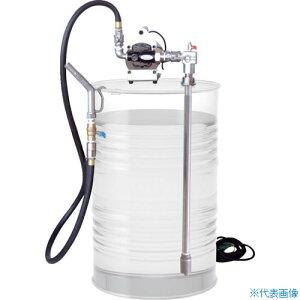 ■アクアシステム 高粘度オイル電動ドラム缶用ポンプ(100V) オイル 油[品番:EVD-100][TR-4100425]