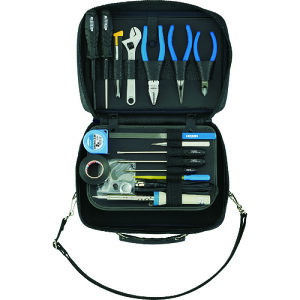 ■HOZAN 工具セット ショルダー工具セット16点 〔品番:S-7〕[TR-4362756]