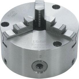 ■ビクター 芯振れ調整型3爪スクロールチャック SC5A 5インチ 一体爪 小林鉄工(株)[TR-4438001] [個人宅配送不可]