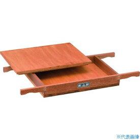 ■TSK 木枠フルイ内寸400X600XH70用受皿・蓋 WD-4-6-70-60 [TR-4626419] [送料別途お見積り]