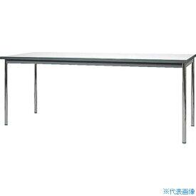 ■ヤマダ ウレタン一体成形エッジミーティングテーブル 1800X450 YU-K1845 山田工業(株)[TR-4664035] [個人宅配送不可]