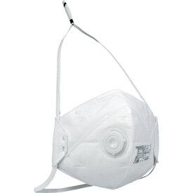 ■TRUSCO 二つ折り使い捨て式防じんマスク DS2排気弁付 10枚入 TD02V-S2 トラスコ中山(株)[TR-4964624]