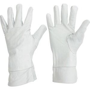 ■ミドリ安全 牛表革手袋 袖長タイプ MT−14 キリン型−白[品番:MT-14-KIRINGATA-W][TR-8192541]