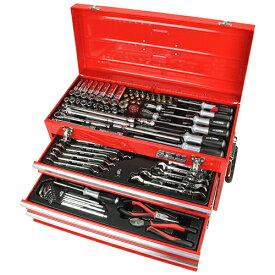 ◆藤原産業 SK11 整備工具セット レッド SST-16133RE