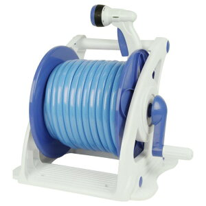 ◆藤原産業 セフティ-3 散水ホースリールセット30M SHR-30M