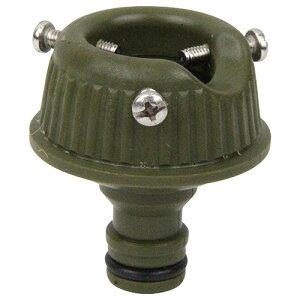 ◆藤原産業 セフティ-3 コイルホース用蛇口ニップル olive