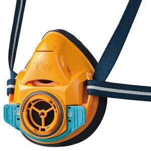 ◆藤原産業 SK11 TW防じん・防毒マスク M-100-OR