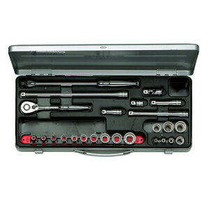 ◆京都機械工具 KTC ソケットレンチセット 9.5 TB317X [個人宅配送不可]