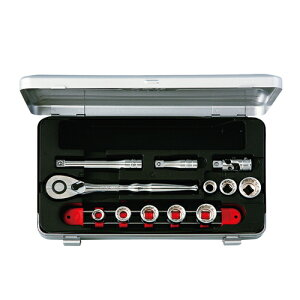 ◆京都機械工具 KTC ソケットレンチセット 9.5 TB308BX [個人宅配送不可]