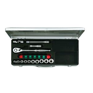 ◆京都機械工具 KTC ソケットレンチセット12.7 TB410X